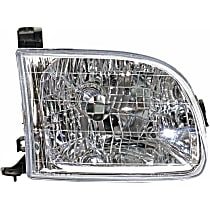 Passenger Side Headlight, With bulb(s) For Regular/Access Cab Models