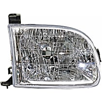 Passenger Side Headlight, With bulb(s) - 00-04 Tundra (Regular/Access Cab Model)