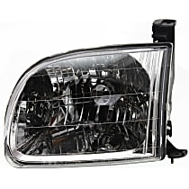 Driver Side Headlight, With bulb(s) For Regular/Access Cab Models
