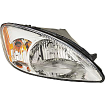 Passenger Side Headlight, Without bulb(s) - 2000-2007 Ford Taurus - Except Centennial Edition