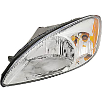 Driver Side Headlight, Without bulb(s) - 2000-2007 Ford Taurus - Except Centennial Edition