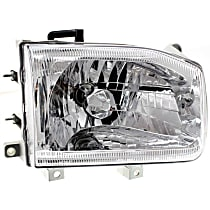 Passenger Side Headlight, With bulb(s) - From 12-98