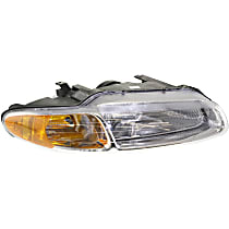 Headlight - Passenger Side, For Convertible, With Bulb(s)