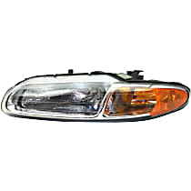 Headlight - Driver Side, For Convertible, With Bulb(s)