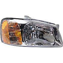 Hatchback/Sedan, Passenger Side Headlight, With bulb(s)