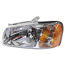 Hatchback/Sedan, Driver Side Headlight, With bulb(s)