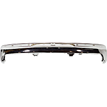Bumper - Front, Chrome, (1999-2002), with Bumper Brackets