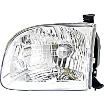 Driver Side Headlight, With bulb(s) - 01-04 Sequoia / 04 Tundra (Double Cab)