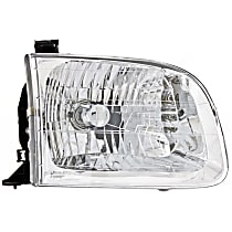 Passenger Side Headlight, With bulb(s) - 01-04 Sequoia / 04 Tundra (Double Cab)