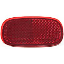 Driver or Passenger Side Bumper Reflector
