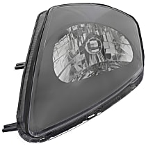 Driver Side Headlight, With bulb(s) - To 1-02