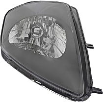 Passenger Side Headlight, With bulb(s) - To 1-02