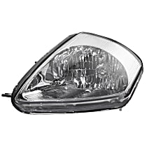 Driver Side Headlight, With bulb(s) - From 2-02