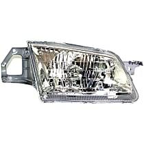 Passenger Side Headlight, With bulb(s) - Sedan