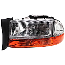 Driver Side Headlight, With bulb(s) - (To 8-18-97)
