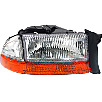 Passenger Side Headlight, With bulb(s) - (To 8-18-97)