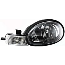 Driver Side Headlight, With bulb(s) - 2000-2002 - Chrysler Dodge Plymouth Neon, w/ Black Interior