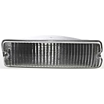 Passenger Side, Below Headlamp Turn Signal Light, Without bulb(s)