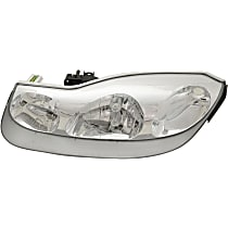 Driver Side Headlight, With bulb(s) - Coupe