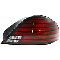 Passenger Side Tail Light, With bulb(s) - Clear & Red Lens, SE/SE1/SE2 Models