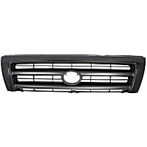 Grille Assembly - Painted Black Shell and Insert