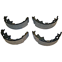 Crown 4423606 Brake Shoe Set - Direct Fit, 2-Wheel Set