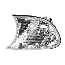 Driver Side Corner Light, Clear Lens, Coupe/Convertible, Vehicle Production Date: Up to 09/2001