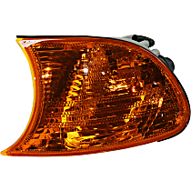 Driver Side Corner Light, Amber Lens, Coupe/Convertible, Vehicle Production Date: Up to 09/2001