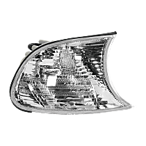 Passenger Side Corner Light, Clear Lens, Coupe/Convertible, Vehicle Production Date: Up to 09/2001