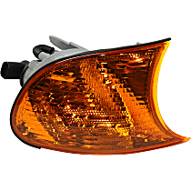 Passenger Side Corner Light, Amber Lens, Coupe/Convertible, Vehicle Production Date: Up to 09/2001