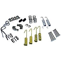 Crown 4636777 Brake Hardware Kit - Direct Fit, Set of 2