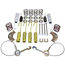 Crown 4636778 Brake Hardware Kit - Direct Fit, Set of 2