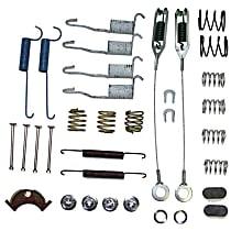 Crown 4636779 Brake Hardware Kit - Direct Fit, Set of 2