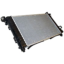 Aluminum Core Plastic Tank Radiator, 25.88 x 14.94 x 1.25 in. Core Size