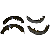Crown 4713365 Brake Shoe Set - Direct Fit, 2-Wheel Set