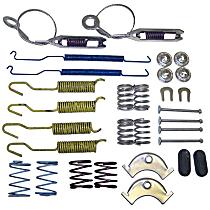 4713365RK Brake Hardware Kit - Direct Fit, Set of 2