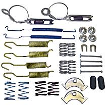 Crown 4713365RK Brake Hardware Kit - Direct Fit, Set of 2