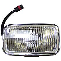 Front, Driver or Passenger Side Fog Light, With bulb(s)