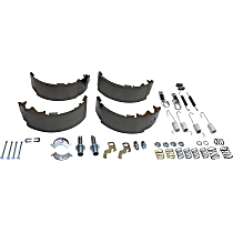 Brake Shoe Set - Direct Fit, Kit Rear