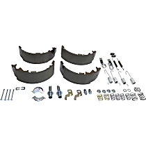 Crown 4723367MK Brake Shoe Set - Direct Fit, Kit