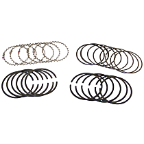 Crown 4762462 Piston Ring Set - Direct Fit, Set of 6