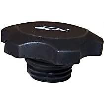 4777536 Oil Filler Cap - Black, Plastic, Direct Fit, Sold individually