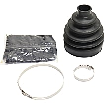 Crown 4796233AB CV Boot - Black, Metal, Rubber and Grease, Direct Fit, Kit