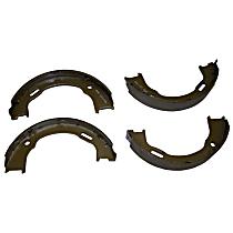 Crown 4796337 Brake Shoe Set - Metal, Direct Fit, 2-Wheel Set