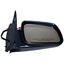 4883020 Passenger Side Non-Heated Mirror - Power Glass, Power Folding, Black