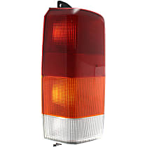 Driver Side Tail Light, Without bulb(s)