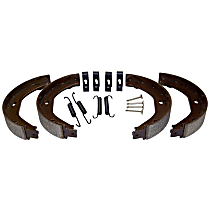 Crown 5011988AA Parking Brake Shoe - Direct Fit, 2-Wheel Set