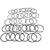 5012364AAK Piston Ring Set - Direct Fit, Set of 8