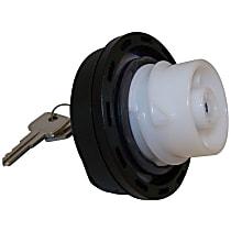 5015636AA Gas Cap - Black, Locking, Direct Fit, Kit