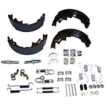 Crown 5019536MK Brake Shoe Set - Direct Fit, Kit